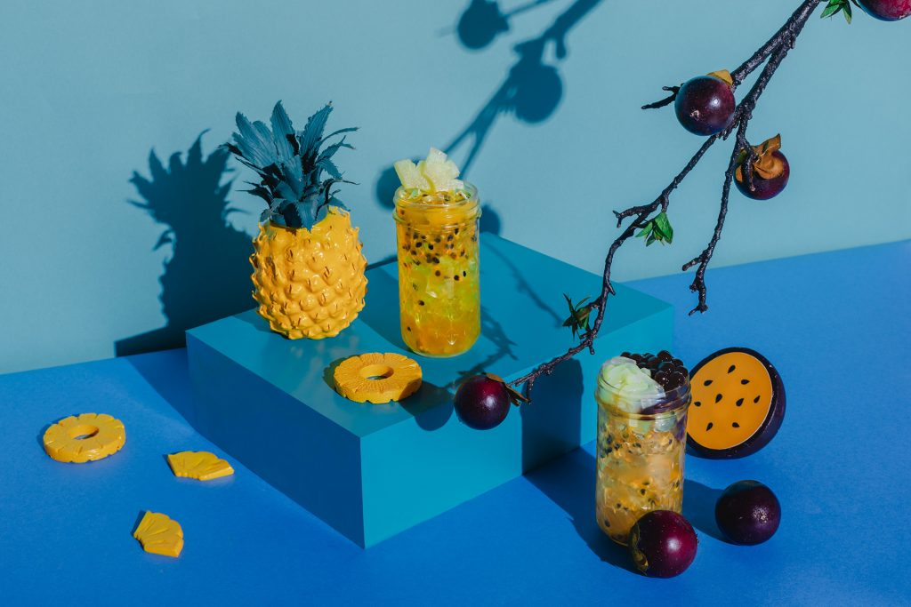 金鑽鳳梨水果茶|台南飲料米里mini 最感人的創作 7