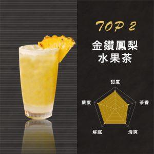 金鑽鳳梨水果茶